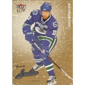 2008-09 Fleer Ultra Henrik Sedin Gold Medallion