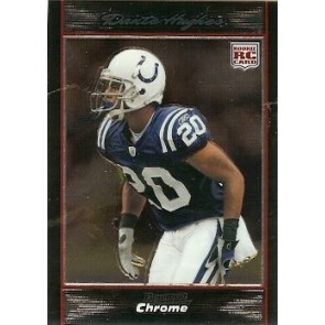 2007 Bowman Chrome Dante Hughes Rookie