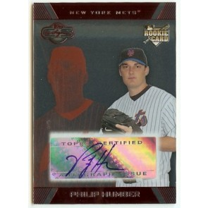 2007 Topps Co-Signers Philip Humber Autograph Rookie Card 126/175