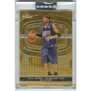 2005-06 Topps Finest Allen Iverson Uncirculated Encased Single 369/399