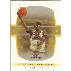 2004-05 Fleer Genuine Stephen Jackson 082/100