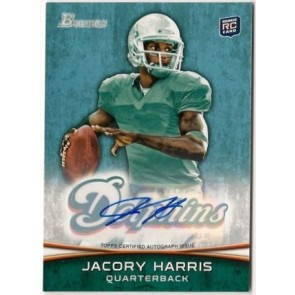 2012 Bowman Signatures Jacory Harris Autograph Rookie