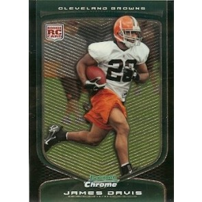 2009 Bowman Chrome James Davis Rookie