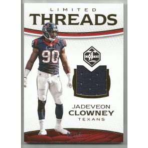 2016 Panini Limited Jadeveon Clowney Threads Jersey Card 45/99 CARD #32