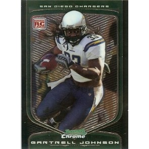 2009 Bowman Chrome Gartrell Johnson Rookie