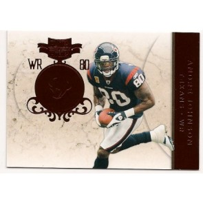 2011 Panini Plates & Patches Andre Johnson Base Single Red 179/299