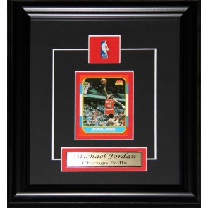 Michael Jordan Reproduction Rookie Card Frame