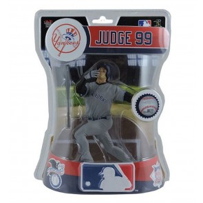 "2017 MLB AARON JUDGE NEW YORK YANKEES ROOKIE FIGURE 6"" BASEBALL IMPORT DRAGON"