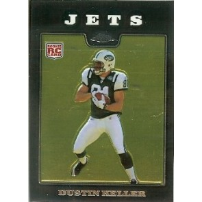 2008 Topps Chrome Dustin Keller Rookie