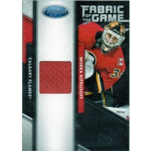 2011-12 Panini Certified Mikka Kiprusoff Fabric of the Game