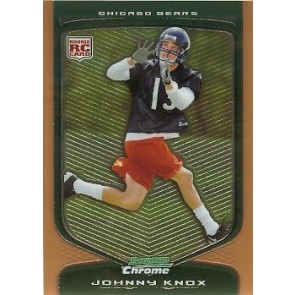 2009 Bowman Chrome Johnny Knox Rookie Gold 181/225