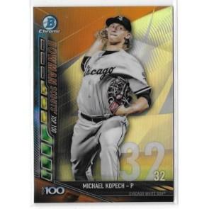 2017 Bowman Chrome Michael Kopech Top 100 Refractor BTP-32 Chicago White Sox