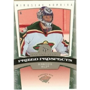 2006-07 Fleer Hot Prospects Miroslav Kopriva Prized Prospects Rookie 1445/1999