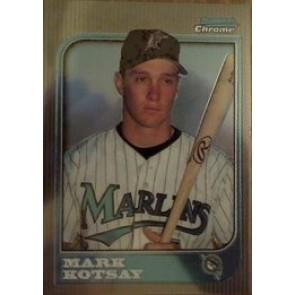 1997 Bowman Chrome Mark Kotsay Rookie