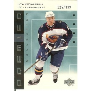 2002-03 Upper Deck Premier Ilya Kovalchuk Base Single 125/399