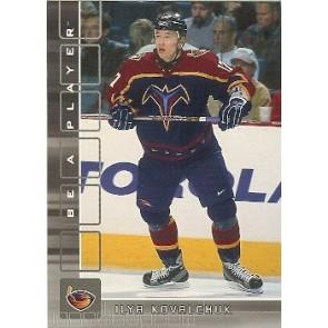 2001-02 Upper Deck Be A Player Ilya Kovalchuk Rookie