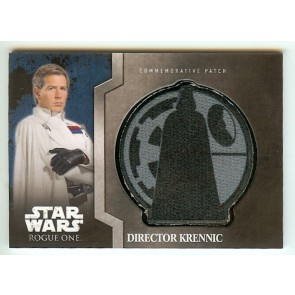 2016 Topps Star Wars: Rogue One Mission Briefing DIRECTOR KRENNIC #5 PATCH CREST