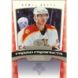 2006-07 Fleer Hot Prospects Kamil Kreps Prized Prospects Rookie 1573/1999
