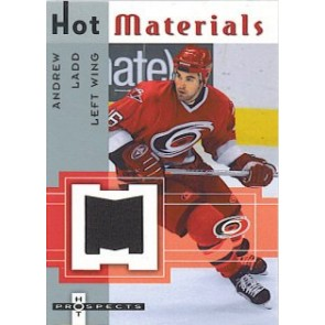 2005-06 Fleer Hot Prospects Andrew Ladd Hot Materials Game Worn Jersey