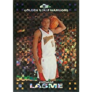 2007-08 Topps Chrome Stephane Lasme Xfractor Rookie 43/50