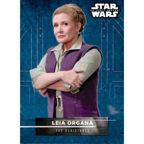 2016 Star Wars The Force Awakens Series 2 Character Stickers #6 Leia Organa