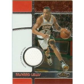 2005-06 Topps Finest Rashard Lewis Game-Worn Jersey 0587 /1629