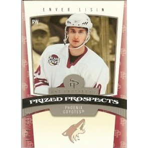 2006-07 Fleer Hot Prospects Enver Lisin Prized Prospects Rookie 1824/1999