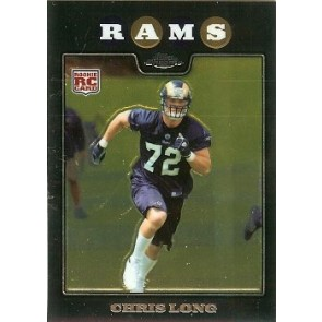 2008 Topps Chrome Chris Long Rookie