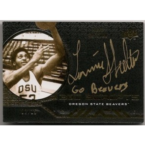 2011-12 Upper Deck Exquisite Lonnie Shelton UD Black Autograph 02/15