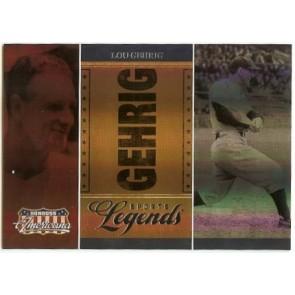 2007 Don Russ Americana Lou Gehrig Sports Legends 198/500
