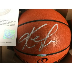 Upper Deck Authenticated UDA KEVIN LOVE Autographed Official Basketball