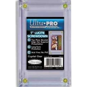 "Ultra Pro 1"" Lucite Screwdown (5 Lot)"