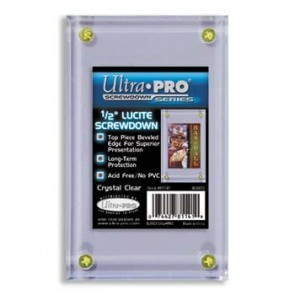 "Ultra Pro 1/2"" Lucite Screwdown"
