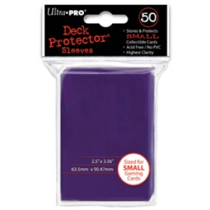 Ultra Pro Yugioh Deck Protectors Majestic Purple (3 Lot)