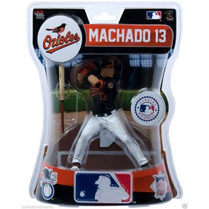 "2017 MLB Premium Sports Artifacts - MANNY MACHADO - 6"" FIGURE ORIOLES"