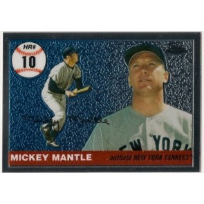 2007 Topps Chrome Mickey Mantle Subset
