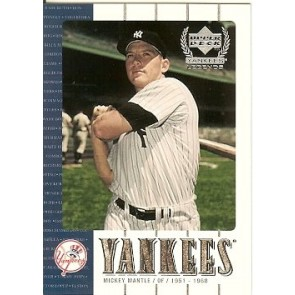 2000 Upper Deck Mickey Mantle Promo