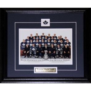 1967 Toronto Maple Leafs Stanley Cup Championship 8x10 frame