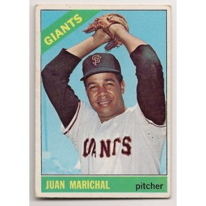 1966 Topps Juan Marichal Single Condition  VG - EX