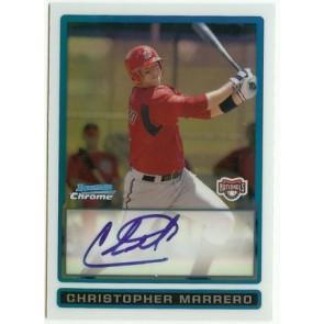 2009 Bowman Chrome Christopher Marrero Autograph Refractor 441/500