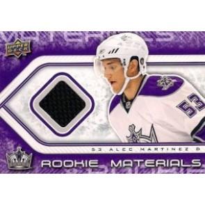 2009-10 Upper Deck Alex Martinez Rookie Materials Game Worn Jersey