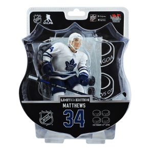 "2017 AUSTON MATTHEWS 6"" Action Figure - Toronto Maple Leafs 4 Goal Special Edition - PREORDER"