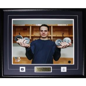 Auston Matthews 4 Goal Game Toronto Maple Leafs 8 x 10 Frame