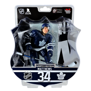 "2017 AUSTON MATTHEWS 6"" Action Figure - Toronto Maple Leafs IN STOCK ROOKIE"