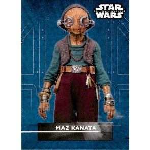 2016 Star Wars The Force Awakens Series Two Character Stickers Maz Kanata