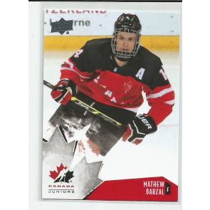 2015-16 Upper Deck Canada juniors Mathew Barzal #20