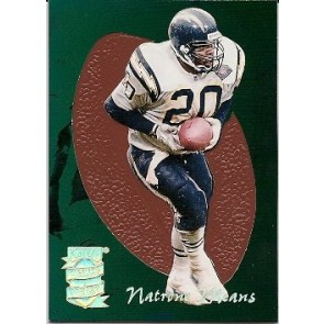 1995 Playoff Prime Natrone Means Pigskins Preview