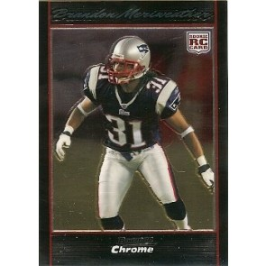 2007 Bowman Chrome Brandon Meriweather Rookie