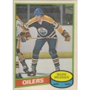 1980-81 O-Pee-Chee Mark Messier Rookie