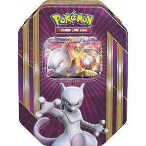 Pokémon TCG: Triple Power Tin Card Game EX Champions Mewtwo EX